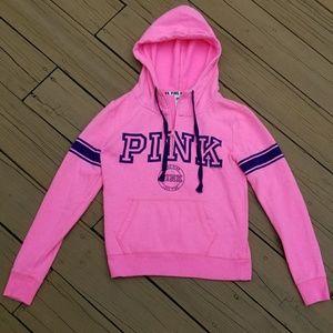 PINK Victoria's Secret Quarter-Zip Hoodie XS